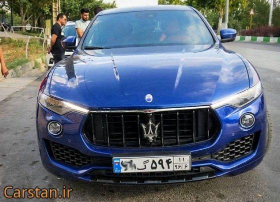 Maserati Levante انواع شاسی بلند در ایران خودروهای خاص شاسی بلند مازراتی قیمت شاسی بلند قیمت مازراتی لوانته در ایران کراس اوورهای موجود در ایران مجله خودرو مشخصات مازراتی لوانته عکس ماشین